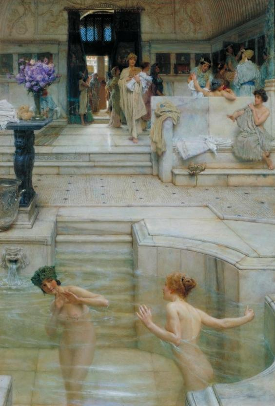 A Favourite Custom 1909 Sir Lawrence Alma-Tadema 1836-1912 Presented by the Trustees of the Chantrey Bequest 1909 http://www.tate.org.uk/art/work/N02675