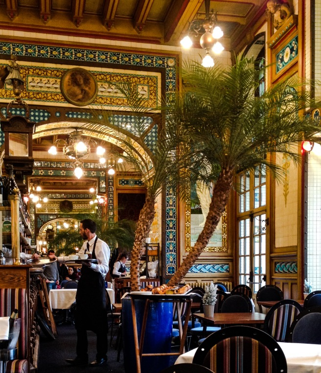 Interior of La Cigale restaurant