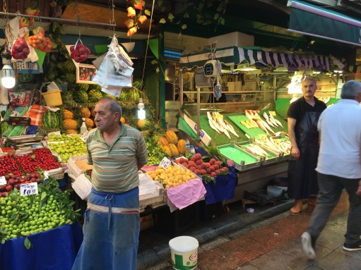 Food market in Kadikoy