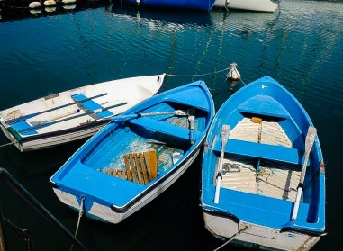 Fishing boats in Lerici, Italy