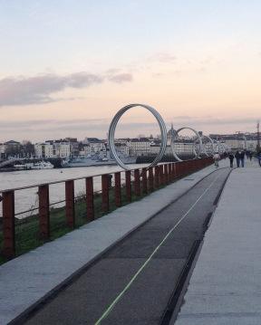 The famous rings of Nantes - Ile de Nantes