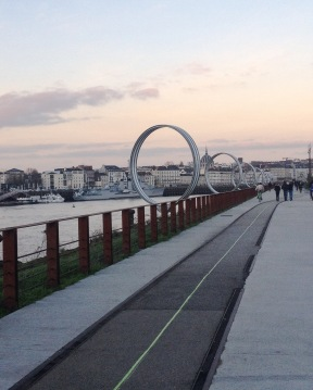 The famous rings of Nantes - Ile de Nantes